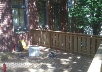 Bygging av terrasse