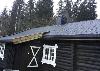 sort-hytte